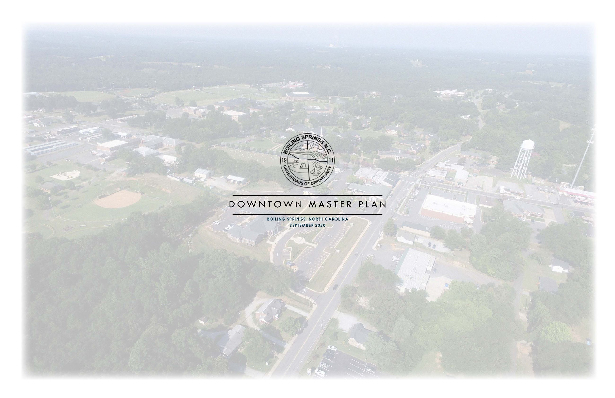 Downtown MasterPlan Document Cover
